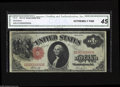 Large Size:Legal Tender Notes, Fr. 37 $1 1917 Legal Tender Serial Number D100000000A CGA ExtremelyFine 45. This discovery becomes only the second 100,000,...