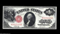 Large Size:Legal Tender Notes, Fr. 38 Mule/Fr. 37 $1 1917 Legal Tenders. Reverse Changeover Pair.Choice New. We are very pleased to bring this pair of not... (2notes)