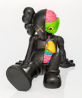 Fine Art - Sculpture, American:Contemporary (1950 to present), KAWS (American, b. 1974). Companion-Resting Place (Black),2013. Painted cast vinyl. 9 x 8-1/4 x 11-1/2 inches (22.9 x 2...