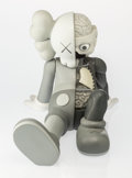 Fine Art - Sculpture, American:Contemporary (1950 to present), KAWS (American, b. 1974). Companion-Resting Place (Grey),2013. Painted cast vinyl. 8-3/4 x 7-1/2 x 11-1/2 inches (22.2 ...