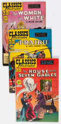 Golden Age (1938-1955):Classics Illustrated, Classics Illustrated - First Editions Group of 14 (Gilberton,1948-54) Condition: Average VG+.... (Total: 14 Comic Books)
