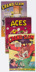 Golden Age (1938-1955):Miscellaneous, Comic Books - Assorted Golden Age Canadian Comics Group of 5 (Various Publishers, 1945-46).... (Total: 5 Comic Books)