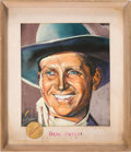 Music Memorabilia:Memorabilia, Beatles - Ringo Starr Owned Gene Autry Portrait. E...