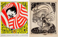 Music Memorabilia:Posters, Paul Revere and the Raiders / The Seeds - Two Vintage Psyc...