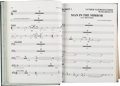 "Music Memorabilia:Memorabilia, Michael Jackson Group of Bound Sheet Music from His ""30th Anniversary Celebration"" (2001). ..."