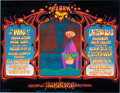 Music Memorabilia:Posters, Grateful Dead / The Who Large Fillmore West Concert Poster BG-133(Bill Graham, 1968). Rare....