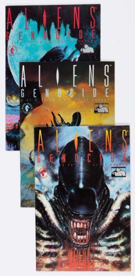 Aliens/Predator Short Box Group (Dark Horse and DC, 1980s-90s) Condition: Average NM-