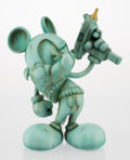 Collectible, OG Slick (American, 20th century). Uzi Does It-Liberty or Death, c. 2014. Painted cast resin. 16-1/2 inches high (41.9 c...