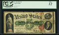 Large Size:Legal Tender Notes, Fr. 63b $5 1863 Legal Tender PCGS Fine 12.. ...