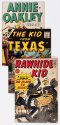 Silver Age (1956-1969):Western, Marvel Golden-Bronze Age Western Comics Box Lot (Marvel, 1940s-70s)Condition: Average VG....