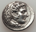 Ancients:Greek, Ancients: MACEDONIAN KINGDOM. Alexander III the Great (336-323 BC).AR tetradrachm (16.79 gm). XF, brushed....