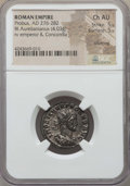 Ancients:Ancient Lots  , Ancients: ANCIENT LOTS. Roman Imperial. Probus (AD 276-282). Lot oftwo (2) BI antoniniani. NGC Choice XF, Silvering-Choice AU,Silverin... (Total: 2 coins)