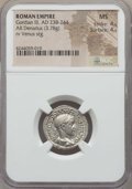 Ancients:Ancient Lots , Ancients: ANCIENT LOTS. Roman Imperial. Gordian III (AD 238-244).Lot of two (2) AR issues. NGC MS 4/5 - 4/5.... (Total: 2 coins)