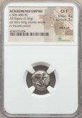 Ancients:Greek, Ancients: ACHAEMENID PERSIA. Time of Darius I-Xerxes I (ca. 505-480BC). AR siglos (5.34 gm). NGC Choice Fine 4/5 - 3/5, edge cut....
