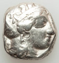 Ancients:Greek, Ancients: ATTICA. Athens. Ca. 440-404 BC. AR tetradrachm (17.00gm). Fine, test cuts....