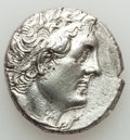 Ancients:Greek, Ancients: PTOLEMAIC EGYPT. Ptolemy III Euergetes (247/6-221/20 BC).AR tetradrachm (13.90 gm).XF, brushed, scratches....