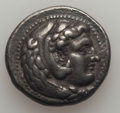 Ancients:Greek, Ancients: MACEDONIAN KINGDOM. Alexander III the Great (336-323 BC).AR tetradrachm (17.01 gm). VF....
