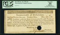 Colonial Notes:Massachusetts, Massachusetts Dec. 10, 1781 $16 PCGS Apparent Very Fine 35.. ...
