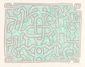 Prints & Multiples, Keith Haring (1958-1990). Chocolate Buddha Green, 1989. Lithograph in colors on Arches paper. 19 x 24-5/8 inches (48.3 x... (Total: 2 Items)