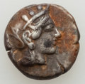 Ancients:Greek, Ancients: ATTICA. Athens. Ca. 440-404 BC. AR drachm (4.22 gm). VF,deposits....