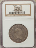 Early Half Dollars, 1794 50C O-101, T-7, High R.3, VG10 NGC. NGC Census: (5/16). PCGSPopulation: (1/8). ...