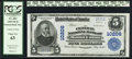 National Bank Notes:Pennsylvania, Mount Union, PA - $5 1902 Plain Back Fr. 602 The Central NB Ch. #10206. ...