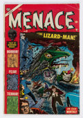 Golden Age (1938-1955):Horror, Menace #8 (Atlas, 1953) Condition: GD+....