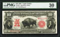 Large Size:Legal Tender Notes, Fr. 122* $10 1901 Legal Tender PCGS Very Fine 30.