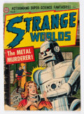 Golden Age (1938-1955):Science Fiction, Strange Worlds #8 (Avon, 1952) Condition: GD....