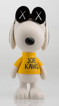 Fine Art - Sculpture, American:Contemporary (1950 to present), KAWS X Peanuts. Joe KAWS, 2011. Painted cast vinyl. 11inches high (27.9 cm). Stamped on the underside of the feet.Publ...