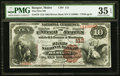 National Bank Notes:Maine, Bangor, ME - $10 1882 Brown Back Fr. 479 The First NB Ch. # 112....