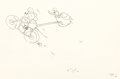 Animation Art:Production Drawing, The Dognapper Mickey Mouse and Donald Duck Animation Drawing(Walt Disney, 1934). ...