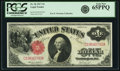Large Size:Legal Tender Notes, Fr. 36 $1 1917 Legal Tender PCGS Gem New 65PPQ.