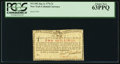Colonial Notes:New York, New York January 6, 1776 (Water Works) 2s PCGS Choice New ...