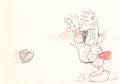 Animation Art:Production Drawing, Thru the Mirror Mickey Mouse Animation Drawing (Walt Disney,1936). ...
