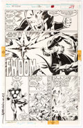 Original Comic Art:Panel Pages, Mark Bagley and Larry Mahlstedt New Warriors #12 NovaOriginal Art (Marvel, 1991)....