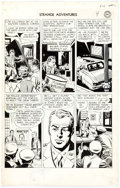 Original Comic Art:Panel Pages, Sy Barry Strange Adventures #55 Story Page 4 Original Art(DC, 1955)....