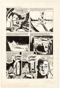 Original Comic Art:Panel Pages, Bob Powell Race For The Moon #1 Story Page 2 Original Art(Harvey, 1958)....