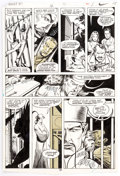 Original Comic Art:Panel Pages, Rick Hoberg, Bill Wray, and Dave Stevens What If? #16Partial Story Shang-Chi Original Art Group of 10 (Marvel, 19...(Total: 10 Original Art)