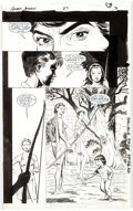 Original Comic Art:Panel Pages, Rick Hoberg and Bill Wray Green Arrow #37 Partial StoryPages 3-6 Black Canary and Shado Original Art (DC, 1990)....