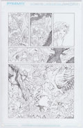 Original Comic Art:Panel Pages, Adriano Batista Jungle Girl #1 Story Page 16 Original Art(Dynamite Entertainment, 2007)....
