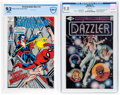 Modern Age (1980-Present):Miscellaneous, Amazing Spider-Man #101 Second Printing and Dazzler #1 Group (Marvel, 1981-92).... (Total: 2 Comic Books)