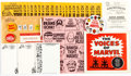 Memorabilia:Comic-Related, Merry Marvel Marching Society Membership Club Kit (Marvel, 1967)....