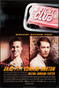 "Movie Posters:Action, Fight Club (20th Century Fox, 1999). One Sheet (27"" X 40"") DS.Action.. ..."