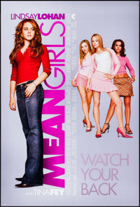 "Mean Girls & Other Lot (Paramount, 2004). One Sheets (2) (27"" X 40"" & 27"" X 41"") DS. Drama..."