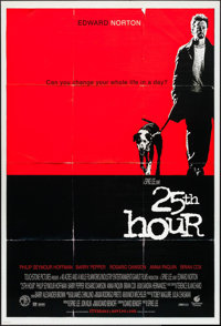 """25th Hour & Others Lot (Buena Vista, 2002). One Sheets (3) (27"""" X 40"""") DS. Drama. ... (Total: 3 Items)"""