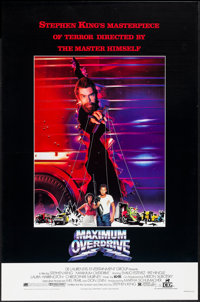 "Maximum Overdrive & Others Lot (DEG, 1986). One Sheets (3) (26.75"" X 39.75,"" 27"" X 40,"" & 27..."