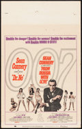 """Movie Posters:James Bond, Dr. No/From Russia with Love Combo (United Artists, R-1965). WindowCard (14"""" X 22""""). James Bond.. ..."""