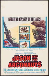 "Jason and the Argonauts (Columbia, 1963). Window Card (14"" X 22""). Fantasy"