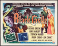 """Movie Posters:Mystery, The Black Castle (Universal International, 1952). Half Sheet (22"""" X28"""") Style A. Mystery.. ..."""